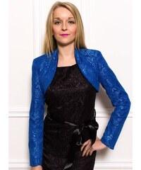 Glamorous by Glam Dámské krajkové bolerko - modrá