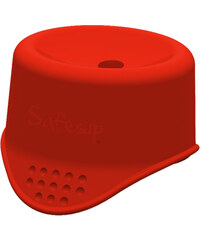 SafeSip Ochrana před rozlitím nápoje - červená