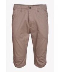 SAM 73 Pánské plátěné ¾ kalhoty SHMS16_03 beige - béžová