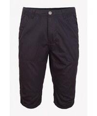 SAM 73 Pánské plátěné ¾ kalhoty SHMS16_03 black - černá