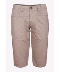 SAM 73 Dámské plátěné ¾ kalhoty SHWS16_10 beige - béžová