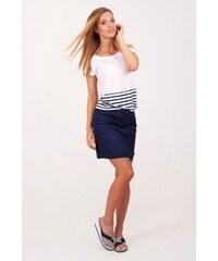 SAM 73 Dámská plátěná sukně SKWS16_06 blue - modrá