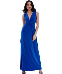 Goddess Modré šaty Alicia Rosa