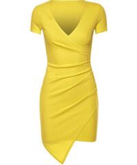 Saxana Žluté šaty Rumena