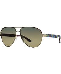 Černo-žluté sluneční brýle GANT GA7037