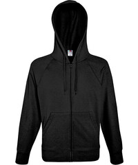 Fruit of the Loom Sweatjacke - Schwarz - S