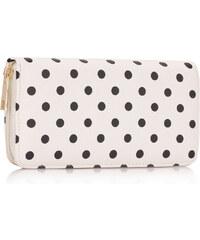L&S Fashion (Anglie) Peněženka LS1048 bílá