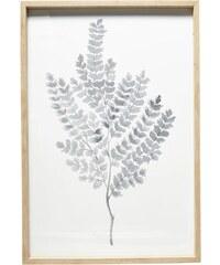 Hübsch Dřevěný rám s obrázkem Leaves