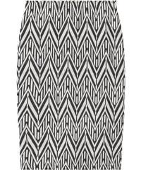 MANGO Jupe Crayon Texturée