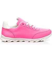 QUEENTINA Sportovní růžové boty Athletic