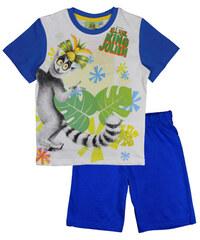 E plus M Chlapecké pyžamo Král Jelimán - modré