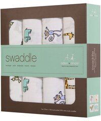 Aden and Anais - Swaddle Baby-Pucktücher 4er-Set für Unisex