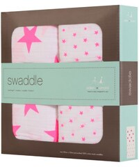 Aden and Anais - Swaddle Baby-Pucktücher 2er-Set für Unisex