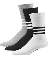 adidas Thin Crew Graphic Socken white/black