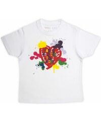 Rigolobo Maman je t'aime très fort - T-shirt - blanc