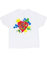 Rigolobo Papa je t'aime très fort - T-shirt - blanc
