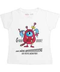 Rigolobo Monstre - T-shirt - blanc