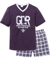 bpc bonprix collection Pyjashort violet manches courtes lingerie - bonprix
