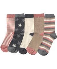 Vivance Socken 5er-Pack in weiß für Mädchen von bonprix