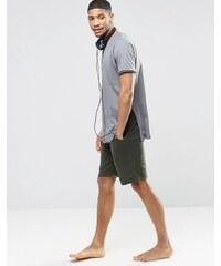 ASOS Loungewear - Short en jersey - Kaki - Vert