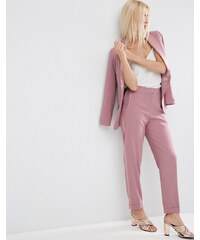 ASOS - Occasion - Sommerliche Smoking-Hose - Rosa