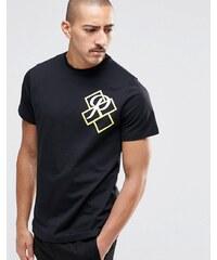 Playground - T-Shirt mit großem P - Schwarz