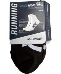 Set 2 Paar niedrige Unisex-Socken ASICS - 3PPK 1000 Series Ankle Sock 123438 Black 0900