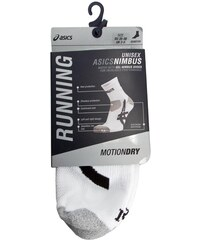 Hohe Socken Unisex ASICS - Nimbus Sock 123433 Real White 9001