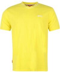 Tričko Slazenger V Neck pán. žlutá