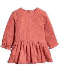H&M Šaty z bavlněné tkaniny