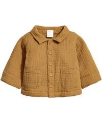H&M Bavlněná bunda z tkaniny