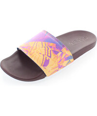 adidas PERFORMANCE Dámské fialovo-žluté pantofle ADIDAS Performence