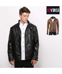 Re-Verse Veste imitation cuir coupe Slim Fit