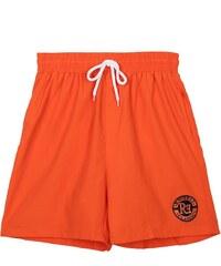 Re-Verse Badeshorts mit Logo-Patch - Orange - S