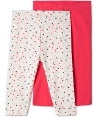 C&A Baby 2er Pack Baby-Leggings in Weiss