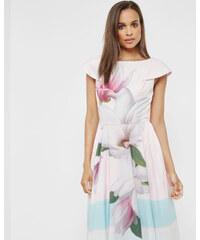 Ted Baker Kleid mit Magnolia Stripe-Print Pink