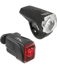M-WAVE M-Wave Batterielampen-Set Atlas K10 schwarz