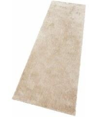 Hochflor-Läufer Dana Höhe 30 mm handgetuftet Bruno Banani natur 12 (80x250 cm)