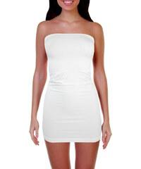 Greenice (G&N) Shakira G&N šaty elastické L bílá