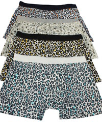 Uomo Leopard boxerky - trojbal M MIX