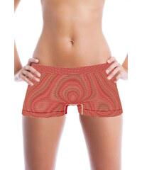 Greenice (G&N) Bokové kalhotky s proužky M červená
