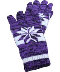 Sport Norway rukavice L fialová