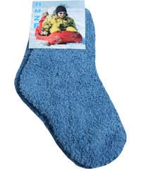 Solo A.M.F.Z. dětské žinilkové ponožky 5-6 let petrolejová
