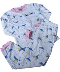 Sport Mousie dětské pyžamko 1-2 roky bílá