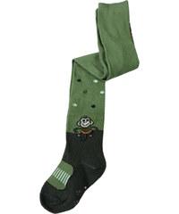 Union Protiskluzové punčošky s obrázkem zelená 1 rok