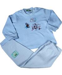 Sport Noelle dětské pyžamko 1 rok světle modrá