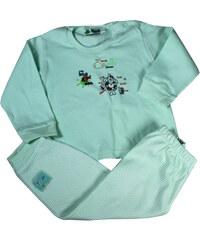 Sport Noelle dětské pyžamko 1 rok světle zelená