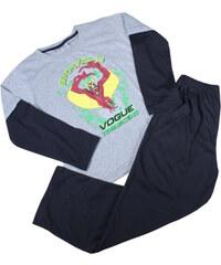 Sport Bravely chlapecké pyžamo 5-6 let šedá
