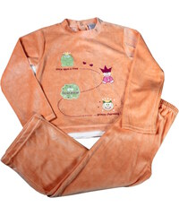 Polska Sweet Froggie pyžamko 3-4 roky oranžová