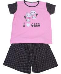 Sport Katzie - dívčí pyžamo 7-8 let růžová